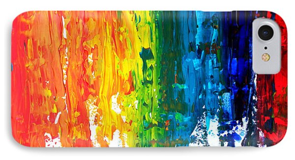 The Abstract Rainbow Beach Series I Phone Case by M Bleichner