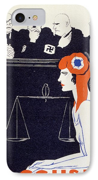 The Accused IPhone Case by Paul Iribe