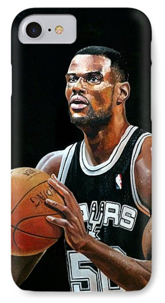 The Admiral David Robinson IPhone Case by Michael  Pattison