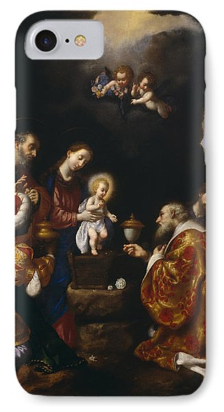 The Adoration Of The Magi Phone Case by Carlo Dolci