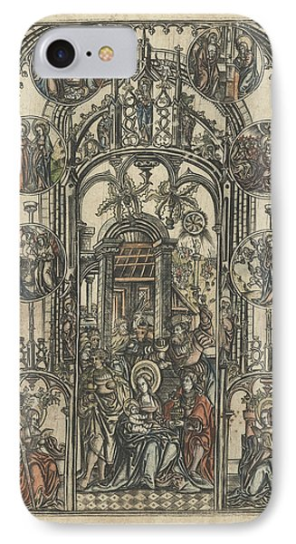 The Adoration Of The Magi, Monogrammist S 16e Eeuw IPhone Case