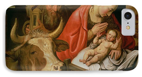 The Adoration Of The Shepherds Phone Case by Pieter Aertsen