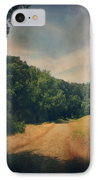 The Adventure Begins Phone Case by Laurie Search