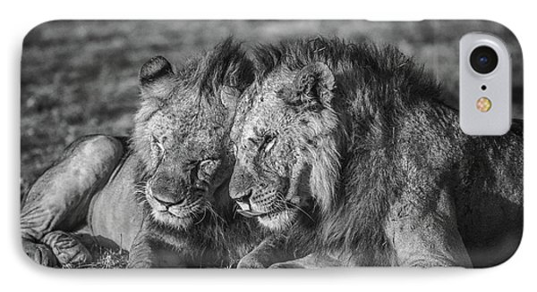 Lion iPhone 7 Case - The Aging Alliance. by Jeffrey C. Sink
