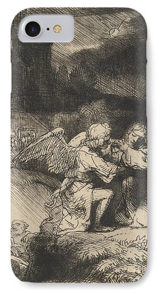 The Agony In The Garden IPhone Case by Rembrandt