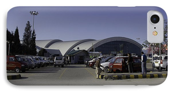 The Airport In Srinagar The Capital Of Jammu And Kashmir Phone Case by Ashish Agarwal