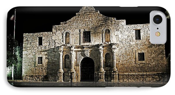 IPhone Case featuring the photograph The Alamo by Andy Crawford
