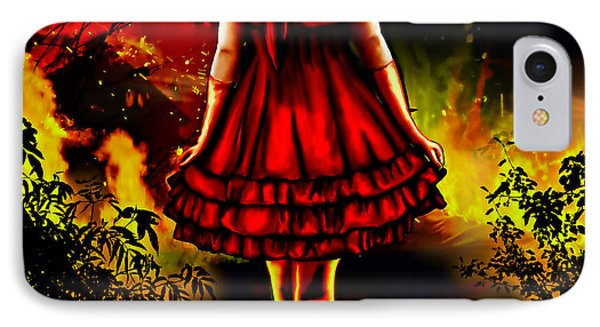 The Alice Girl IPhone Case by Persephone Artworks