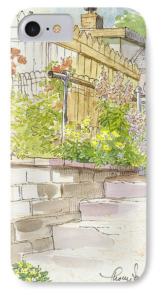 The Alley Stairway IPhone Case by Tracie Thompson
