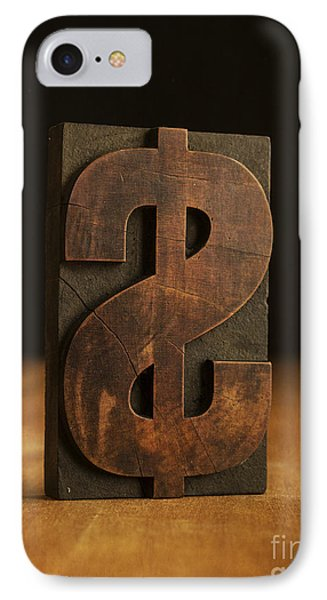 The Almighty Dollar IPhone Case by Edward Fielding