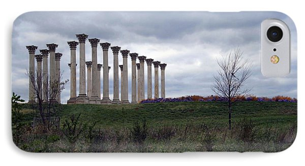 The Almost Forgotten Columns -- 2 IPhone Case by Cora Wandel