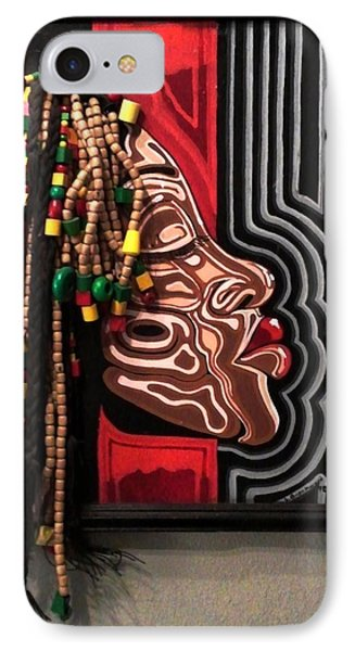 The Amazing Sista Phone Case by SBrian Morgan
