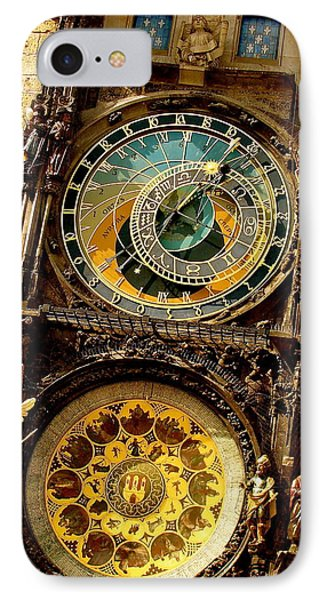 The Ancient Of Clocks Phone Case by Ira Shander