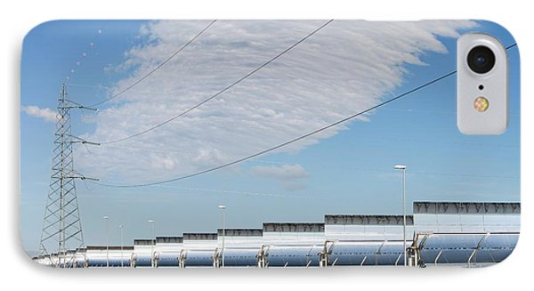 The Andasol Solar Power Station IPhone Case by Ashley Cooper