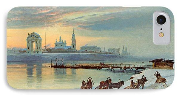 The Angara Embankment In Irkutsk IPhone Case