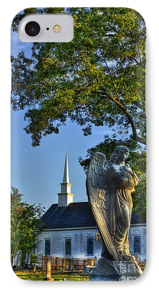 The Angel At Walker Umc IPhone Case by Reid Callaway