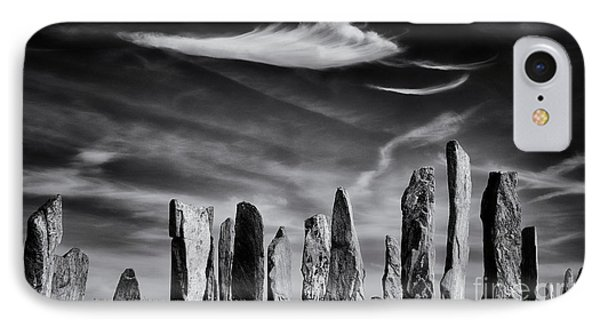 The Angel Of Callanish  Phone Case by Tim Gainey