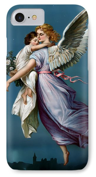 The Angel Of Peace For I Phone IPhone Case by Terry Reynoldson