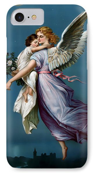 The Angel Of Peace IPhone Case by Terry Reynoldson