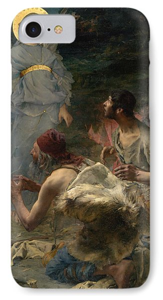 The Annunciation To The Shepherds IPhone Case by Jules Bastien-Lepage