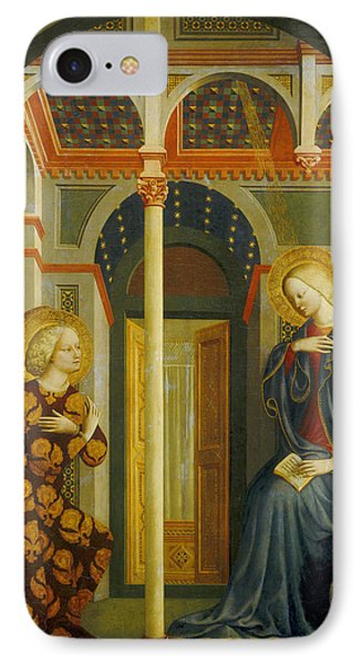The Annunciation Phone Case by Tommaso Masolino da Panicale