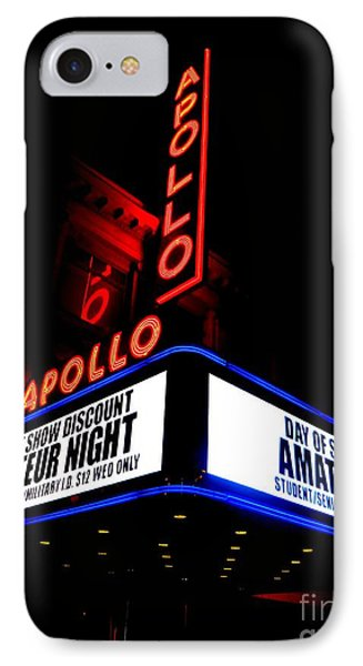Apollo Theater iPhone 7 Case - The Apollo Theater by Ed Weidman