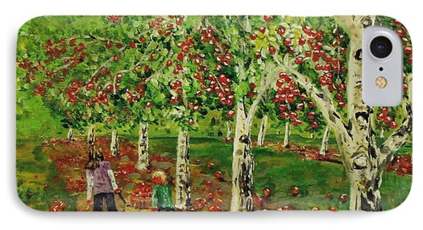 The Apple Pickers IPhone Case by Mike Caitham