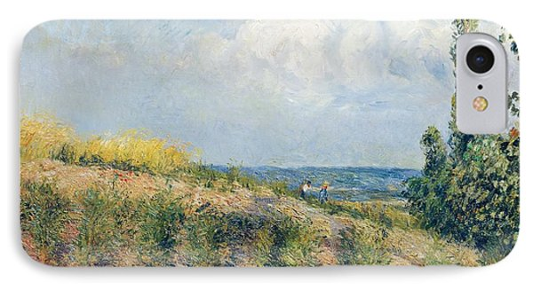 The Approaching Storm Phone Case by Camille Pissarro