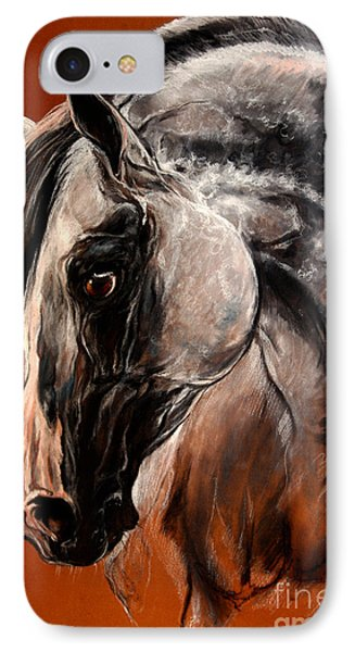 The Arabian Horse Phone Case by Angel  Tarantella