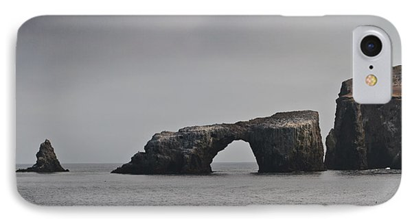 The Arch At Anacapa Island Phone Case by Mitch Shindelbower