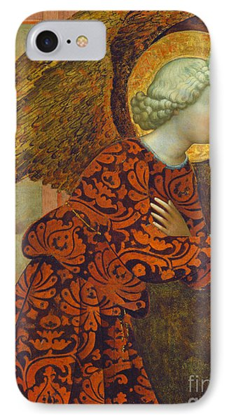 The Archangel Gabriel Phone Case by Tommaso Masolino da Panicale
