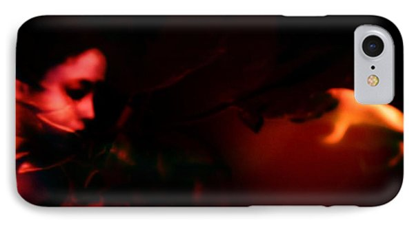 IPhone Case featuring the photograph The Architect Of Red  by Jessica Shelton
