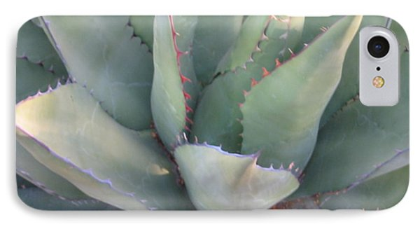 IPhone Case featuring the photograph The Arizona Desert by Jean Marie Maggi