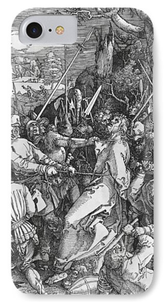 The Arrest Of Jesus Christ IPhone Case by Albrecht Durer or Duerer
