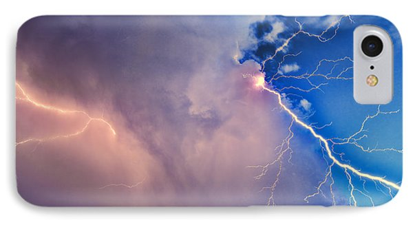 The Arrival Of Zeus IPhone Case by Jonathan Davison