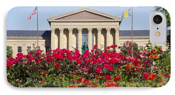 The Art Museum In Summer Phone Case by Bill Cannon