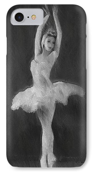 The Art Of Dancing IPhone Case by Steve K