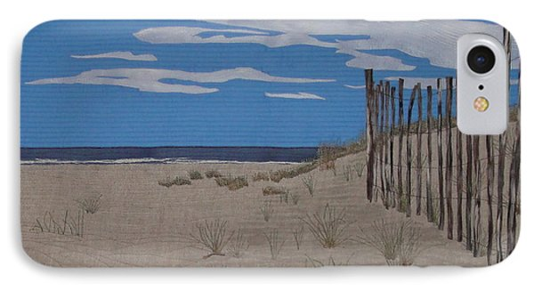 The Art Of Fencing Phone Case by Anita Jacques