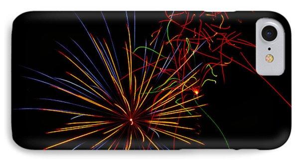The Art Of Fireworks  Phone Case by Saija  Lehtonen