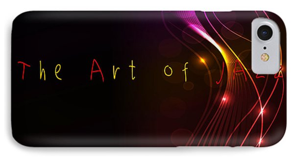 The Art Of Jazz IPhone Case by Liane Wright