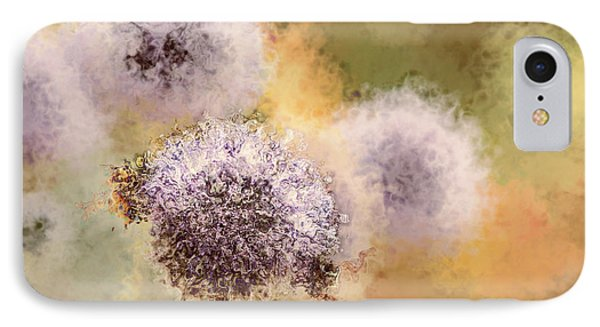 The Art Of Pollination Phone Case by Peggy Collins