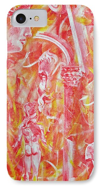 The Art Of Sculptures Phone Case by Konni Jensen