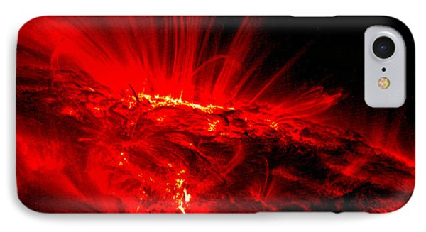 The Art Of The Universe 307 Phone Case by The Hubble Telescope