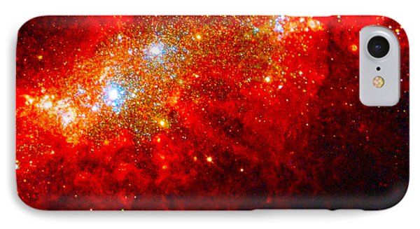 The Art Of The Universe 309 Phone Case by The Hubble Telescope