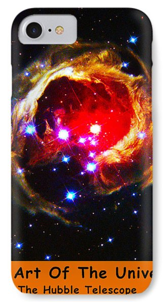 The Art Of The Universe 323 Phone Case by The Hubble Telescope
