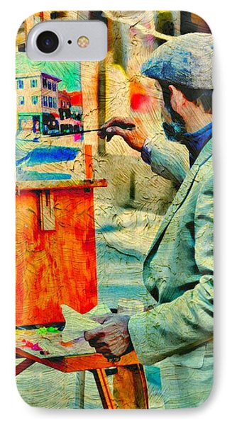 The Artist Phone Case by Diana Angstadt