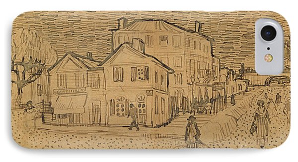 The Artists House In Arles IPhone Case by Vincent Van Gogh