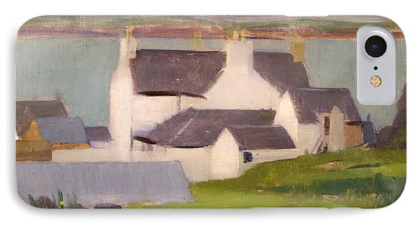 The Artists Studio Iona IPhone Case by Francis Campbell Boileau Cadell
