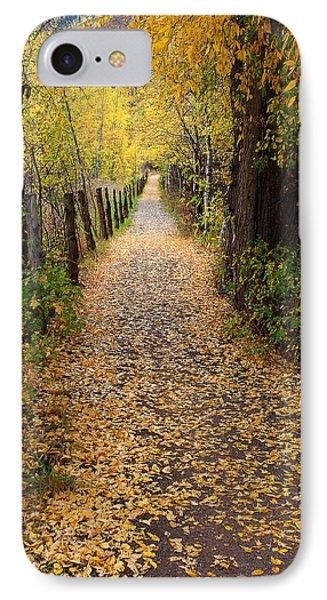The Aspen Trail IPhone Case by Jim Garrison