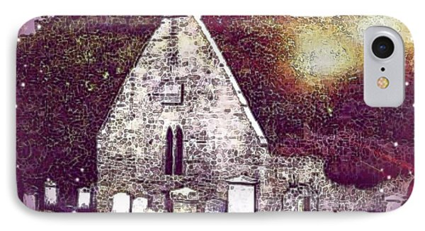 The Auld Kirk Alloway Scotland IPhone Case
